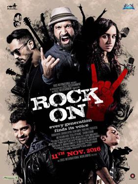 Rock On 2!! poster
