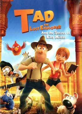 TAD THE LOST EXPLORER AND THE SECRET OF KING MIDAS BluRay