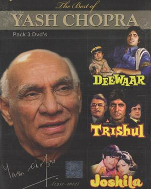 THE BEST OF YASH CHOPRA(Deewar-Trishul-Joshila) DVD