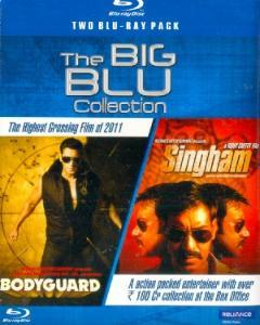 THE BIG BLU COLLECTION BODYGUARD,SINGHAM  movie