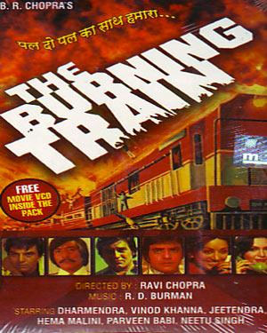 THE BURNING TRAIN  movie