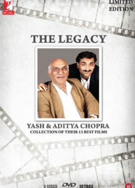 THE LEGACY YASH AND ADITYA CHOPRA  poster