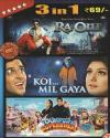 3 in 1 - Ra.one - Koi Mil Gaya - Toonpur Ka Superrhero DVD