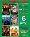 3D FAMILY PACK   Pack Of 6 Movies DVD