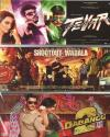 3 In 1 Tevar - Shootout At Wadala -Dabangg 2 DVD
