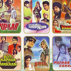 CLASSICS FOR MY LIBRARY - MANOJ KUMAR - 6 MOVIE DVD GIFT PACK  movie