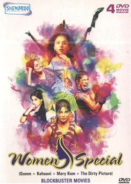 WOMEN SPECIAL ( Queen+Kahaani+The Dirty Picture+Mary Kom) poster