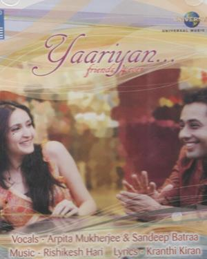 YAARIYAN FRIENDS 4EVER Movie Audio CD