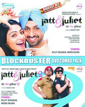 Jatt and Juliet 1 - 2 Combo  movie