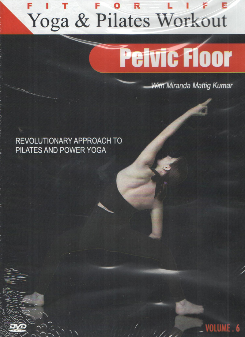Buy yoga pilates wrokout vol 6 pelvic floor dvd online for Pelvic floor yoga