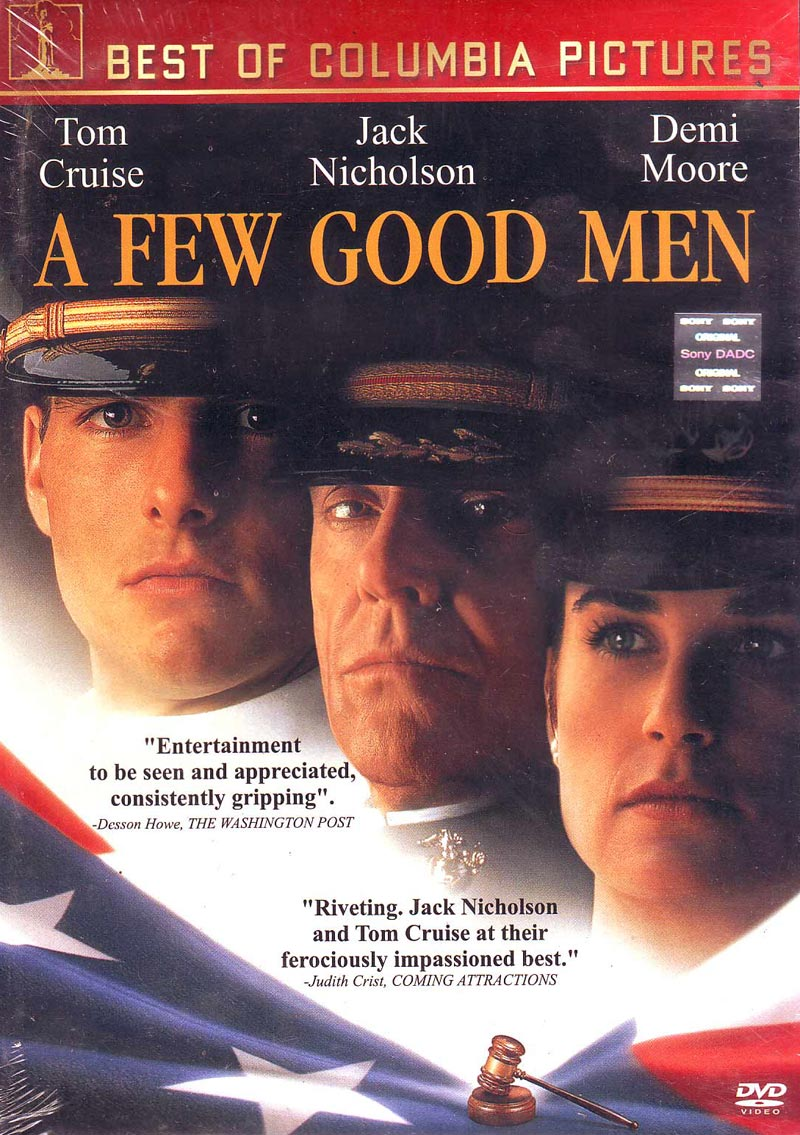 movie review a few good View notes - movie review a few good men from econ 101 at university of phoenix running head: movie review 1 movie review erika manes adj/235 october 5, 2012 yolanda white johnson movie.