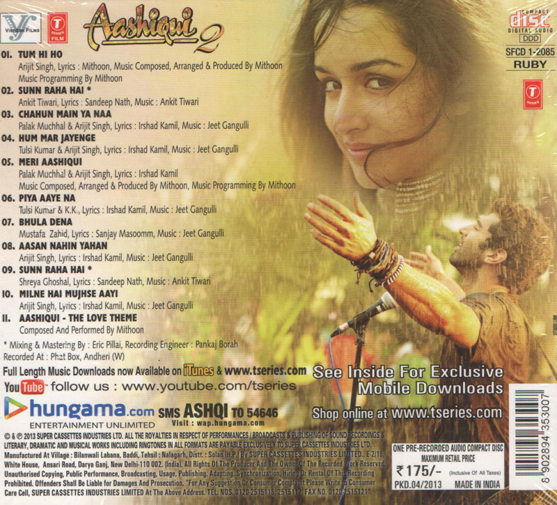 Aashiqui (1990) Movie Mp3 Songs Download | Songs PK