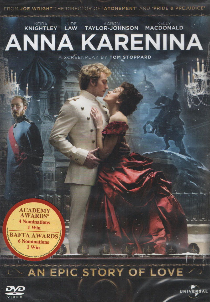 anna karenina review Overall impression: i started out devouring every word of this book, even though it seemed like i never got that far along into it in a given sitting as i got toward.