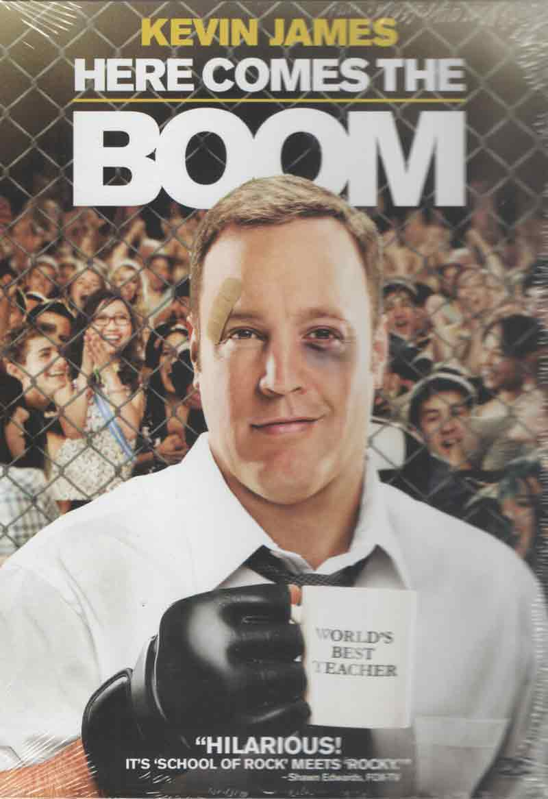 buy here comes the boom dvd online
