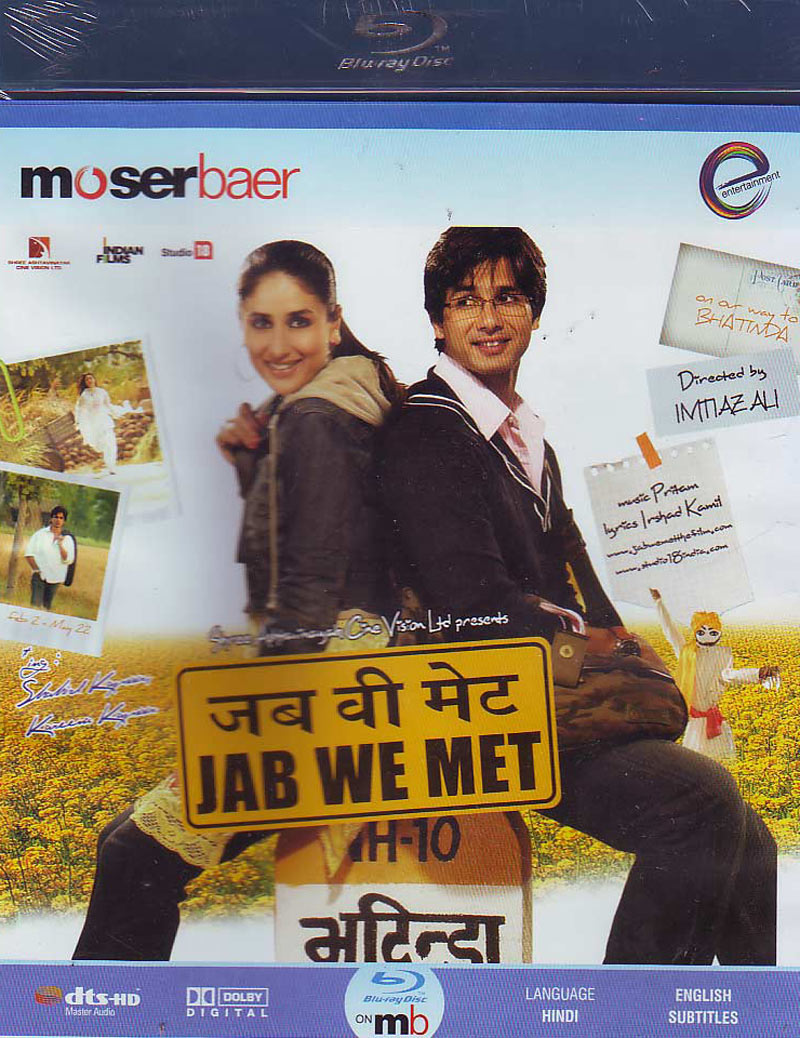 JAB WE MET Blu-ray  Jab We Met Movie Poster