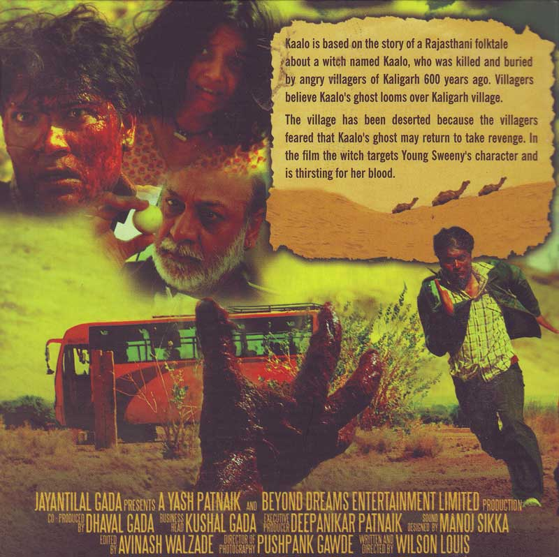 Horror Movie Sounds Instrument Movie Online With Subtitles: Buy KAALO DVD Online
