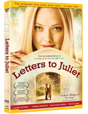 Buy Letters to Juliet DVD online