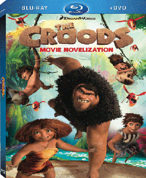 The Croods 2 Movie: English Movie The Croods Blu-ray