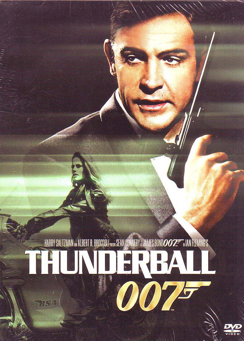 Thunderball Movie DVD