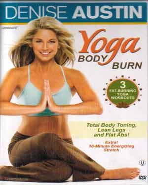 DENISE AUSTIN YOGA BODY BURN poster