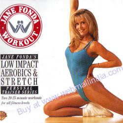 JANE FONDAS LOW IMPACT AEROBICS AND STRETCH poster