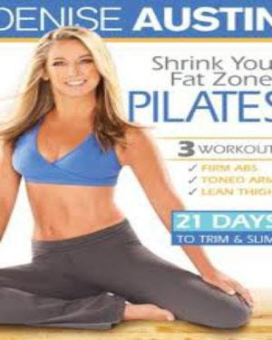 SHRINK YOUR FAT ZONES PILATES DVD