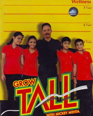 Grow Tall With Mickey Mehta DVD