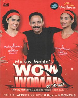 WOW WOMAN WORKOUTS Mickey Mehtas poster
