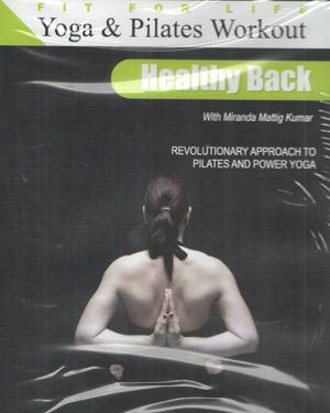 Yoga & Pilates Workout Vol 5-Healthy Back poster