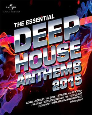 Buy the essential deep house anthems 2015 audio cd online for Essential house music