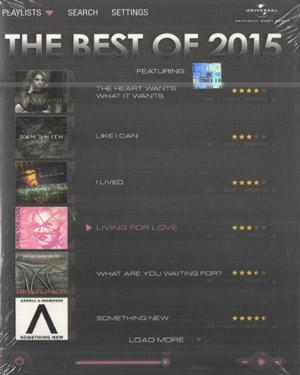 THE BEST OF 2015  music