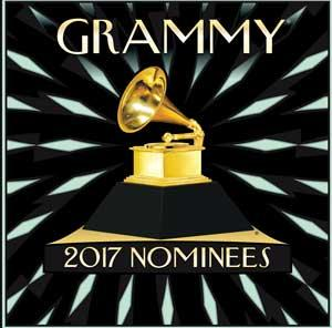 2017 Grammy Nominees poster