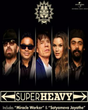 SUPERHEAVY - MIRACLE WORKER poster