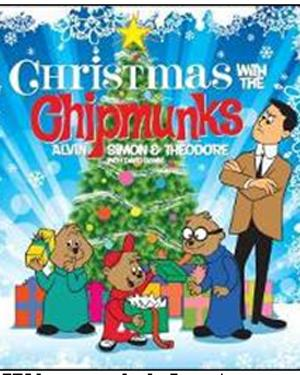 THE CHIPMUNKS-CHRISTMAS WITH THE CHIPMUNKS poster