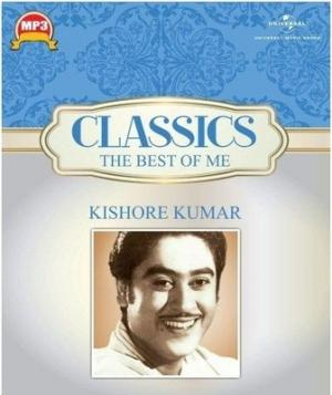 Classics The Best Of Me - Kishore Kumar poster
