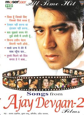 ALL TIME HITS SONGS FROM AJAY DEVGAN - 2 FILMS poster