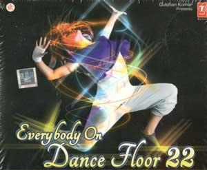 EVERYBODY ON DANCE FLOOR 22 poster