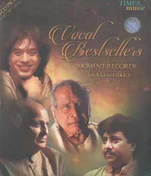 VOCAL BESTESELLERS MOMENT RECORDS COLLCETIBLES poster