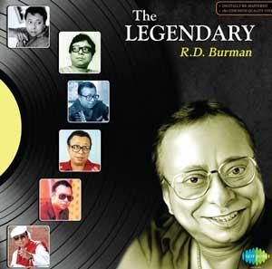 The LEGENDARY - R D BURMAN poster