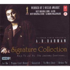 A R RAHMAN - SIGNATURE COLLECTION poster