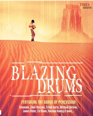 Blazing Drums  music