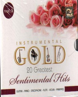 INSTRUMENTAL GOLD 20 GRT SENTIMENTAL HITS  ACD