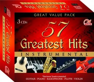 57 Greatest Hits Instrumental ( 3 Cd Sets) poster