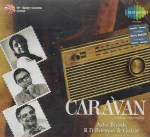 Caravan Golden Moments - Asha, R.D.Burman,Gulzar poster