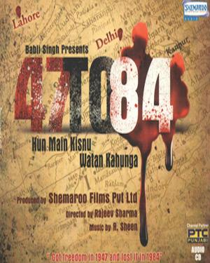 47 TO 84 poster
