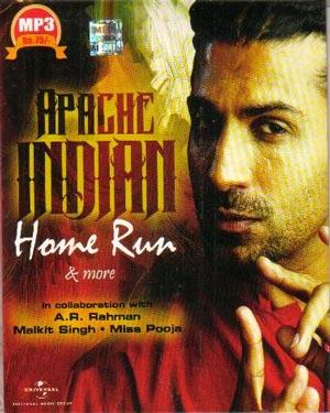 APACHE INDIAN HOME RUN poster
