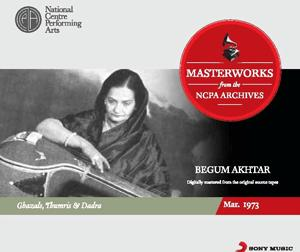 Masterworks From The NCPA Archives - Begum Akhtar poster