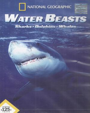 WATER BEASTS- SHARKS- DOLPHINS- WHALES  poster