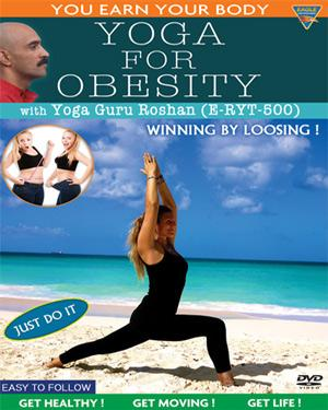 YOGA FOR OBESITY - YOU EARN YOUR BODY poster