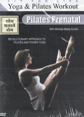 YOGA & PILATES WORKOUT - PILATES PRENATAL  VOL. 8 poster